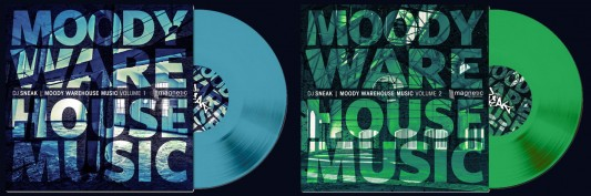 "DJ Sneak - Moody Warehouse Music - 12"" Vinyl"